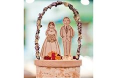 Handmade Rustic Wedding Topper - a couple that looks like you under the chuppah! - how about our logo under the chuppah instead? could make it out of gingerbread or sugar cookie Wedding Chuppah, Wedding Canopy, Fox Wedding, Rustic Wedding, Wedding Cake Toppers, Wedding Cakes, Handmade Wedding, Gingerbread, Cookie