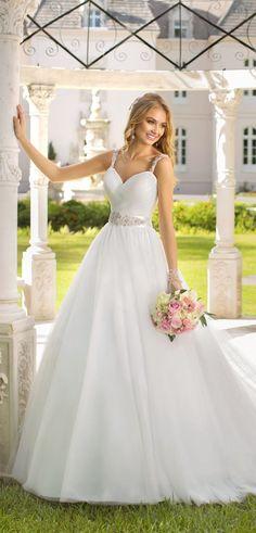 vestido de  novia con piedras  Swarovski Si vas a casarte 2034fccad814
