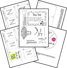 A-Z Notebooking pages