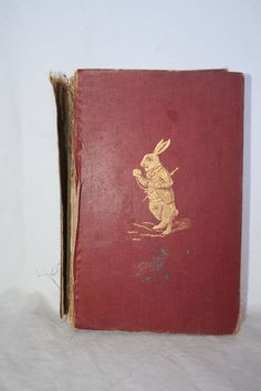 1921 Alice's Adventures in Wonderland & by MoreReallySweetStuff, $195.00