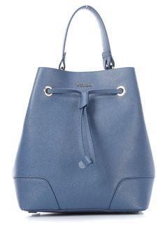 wardow.com - #Furla, Stacy Henkeltasche blau 26 cm