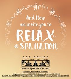 Come and have a relaxing spa @ spa nation #spa #spanation #relax