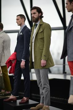 #LCM | Hardy Amies Spring | Summer 2014.....The Gherkin, London