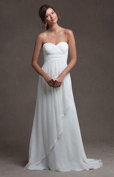 Outdoor/ Destination/Beach wedding dress Simple by MermaidBridal, $188.99