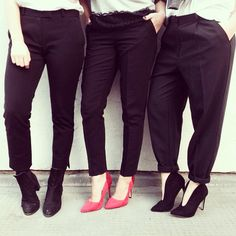 This is how we rock tailored trousers :) 1. http://asos.do/iXtCq4 2. http://asos.do/Nm7IoY 3. http://asos.do/6y8zY9