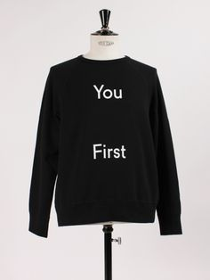 College Slogan from Acne Studios