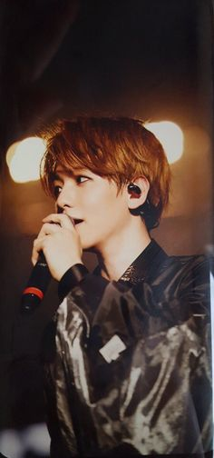 B Baekhyun / black Kris Wu, Chanbaek, Kaisoo, Kyungsoo, K Pop, Park Chanyeol, Pop Bands, Kim Minseok, Xiuchen