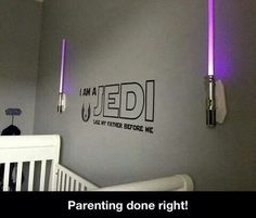 Awesome jedi room for kids