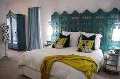Love the headboard idea  #bedroom_decor #interior_design