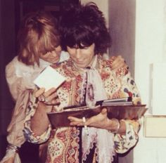 """""""I loved Anita. I loved her a lot, but you can't stay with someone who's sleeping with other people."""" - Keith Richards 