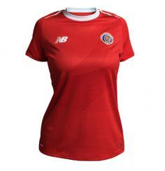 ce7d77e0587 World Cup Costa Rica Home Women's Jersey Shirt World Cup 2018, Fifa World  Cup,
