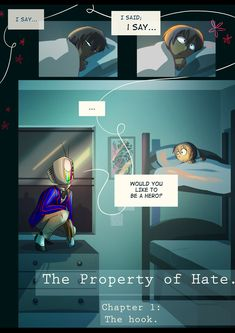 The Hook : Page 1 | The Property of Hate, I'm going to start this comic it seems good :)