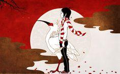 君の街まで by Asian Kung-Fu Generation (Art by Yusuke Nakamura) Art And Illustration, Character Illustration, Graphic Design Illustration, Manga Illustrations, Japanese Pop Art, Different Art Styles, Manga Artist, Japan Art, Art Sketchbook