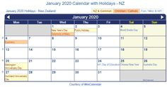 January Holidays 2020 USA UK Canada NZ India Malaysia Singapore Philippines Australia - January 2020 Calendar with Holidays Printable Template Make A Calendar, Holiday Calendar, Holiday Dates, Holiday List, World Braille Day, Kansas Day, Holidays Germany, Free Printable Calendar Templates