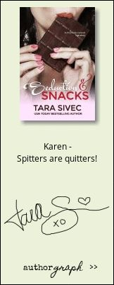 Authorgraph from Tara Sivec for Seduction and Snacks (Chocolate Lovers Chocolate Lovers, Snacks, Appetizers, Treats