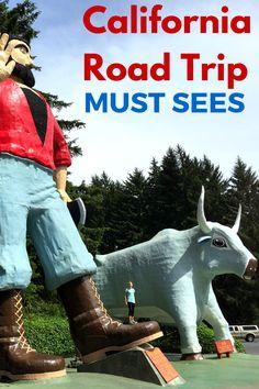 California Road Trips Stops: 15 Of My Favorites