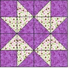 Part of the Basic Blocks Plus series, this block is known as Crown Star and comes with 6 Half Square Triangle Quilts Pattern, Pinwheel Quilt Pattern, Quilt Square Patterns, Pattern Blocks, Square Quilt, Triangle Quilt Tutorials, Apron Patterns, Dress Patterns, Quilt Blocks Easy