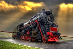 Old Locomotive by Laimonas Ciūnys, via 500px