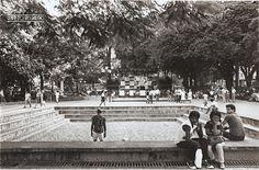 Parque Halfeld, em 1989 (arquivo de Marcelo J. Lemos).
