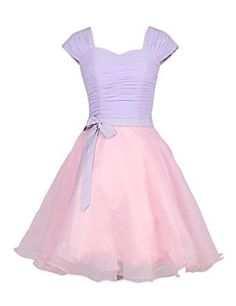 Dresstells® Women's Knee-length Chiffon Prom Party Homecoming Dress