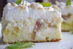 Šťavnatý rebarborový koláč s tvarohom a lahodnou penou 2