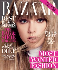 Taylor Swift en Harpers Bazaar EUA Dic/Enero 2013