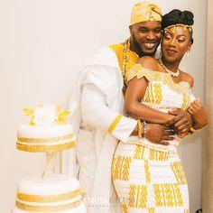 You do things… African Wedding Attire, African Attire, African Wear, African Women, African Dress, African Weddings, Couples African Outfits, Kente Dress, Ghana Wedding
