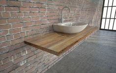 Holz Waschtischtischplatte aus Sunwood
