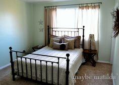 Beautiful crochet afghan and bedroom by @Rachel Brown