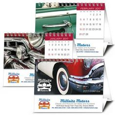 Triumph Desk Tent Calendar | Minimum order 100, $4.98 - $2.07 ea.