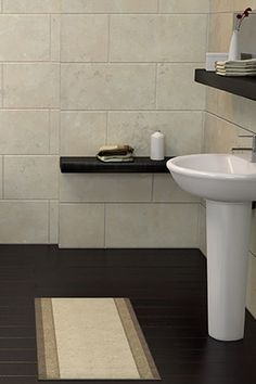 Inexpensive Bathroom Fixes How To Cover Ugly Floors From O