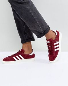 Discover adidas Originals for women at ASOS. Shop for NMD sneakers and clothing like t-shirts & leggings from adidas Originals. Cute Sneaker Outfits, Sneakers Outfit Men, Sneakers Fashion Outfits, Cute Sneakers, Red Sneakers, Adidas Sneakers, Sneakers Style, Fashion Shoes, Adidas Gazelle Outfit