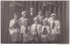 RPPC 1914-15 HAVERLING HIGH SCHOOL - BATH NEW YORK - GIRLS BASKETBALL TEAM #2 Item number: 289766218 SCVIEW - Delcampe.com