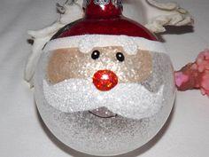 Hey, I found this really awesome Etsy listing at https://www.etsy.com/listing/167138062/santa-glitter-christmas-ornament-santa