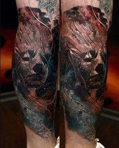 Domantas Parvainis tattoo