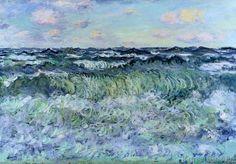 Claude Monet - Marine (Étude de mer)