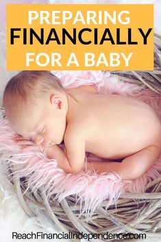 Are you having a baby? Here are important things on how to prepare financially for a baby. All of these things cost money, and while I'm confident that everything will work out for the best, at the moment I am just trying to do my best to plan for the future.