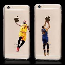 LeBron and Curry Iphone Sticker. Google Images