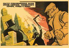 """Muerte al capitalismo del mundo"" V. Deni, 1931."