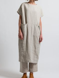 Plain Dress, Blue Khakis, Online Dress Shopping, Linen Dresses, Tunic Dresses, Army Green, Types Of Sleeves, Fashion Dresses, Short Sleeve Dresses