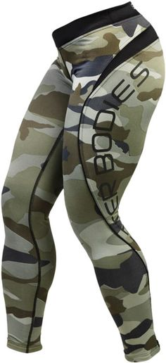 Better Bodies Camo long tights is a great product for hardcore athletes! The design and shape of these tights have the popular Better Bodies butt & thigh shape. The large print on thigh enhances the nice sweeping athletic look. The fabric in this product Athletic Looks, Athletic Wear, Workout Attire, Workout Wear, 99 Workout, Michelle Lewin, Weight Lifting, Fit Girl, Gym Gear