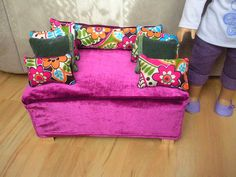 Doll Craft - Clementine Box to Doll Couch