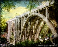 The Viaducto on Calle Segovia, in #Madrid.