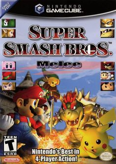 Super Mario Smash Bros. Melee - my fantasy come true and first next gen console
