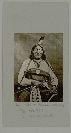 Slow Bull (aka Slow Buffalo Bull) - Oglala - 1899