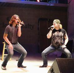 Tim Foust and Adam Rupp, Hillbilly Bone moves!