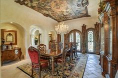 Majestic French Château in Texas 38