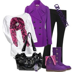 Pink & Purple Outfit Untitled #523 - Polyvore