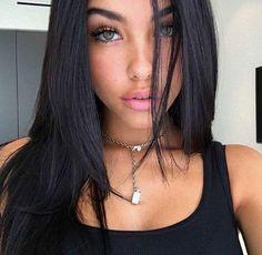 Dark hair and light eyes is a dangerous combination Photos) Beauty Makeup, Hair Makeup, Hair Beauty, Brunette Beauty, Brunette Girl, Gina Lorena, Natural Beauty Tips, Natural Makeup, Natural Looks