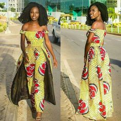 African Print Jumpsuit, African Print Dresses, African Wear, African Attire, African Fashion Dresses, African Women, African Dress, African Fashion Designers, African Inspired Fashion